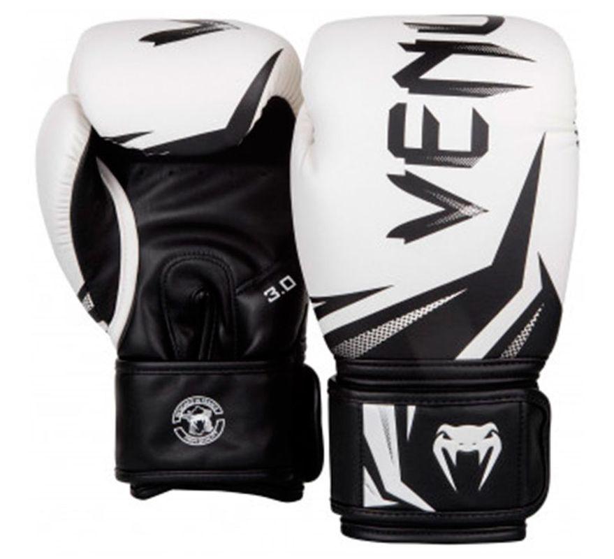 Guantes de Boxeo para ni/ños Color Blanco y Negro Venum Challenger 2.0
