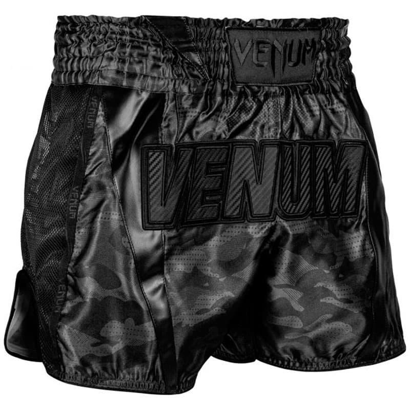 Pantalones Muay Thai Venum Full Cam Negro Envio Gratis