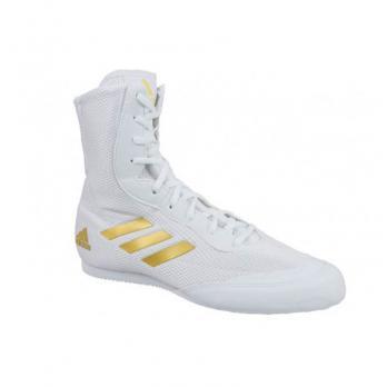 Botas de Boxeo Adidas Box Hog 2 Plus New Blanca/Dorada