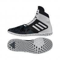 Botas de Boxeo Adidas Flying Impact negro / blanco