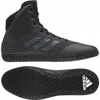 Botas de Boxeo Adidas Mat Wizard 4 Carbono Negra