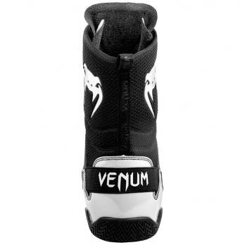 Botas de Boxeo Venum Elite Negro/Blanco