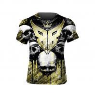 Camiseta Buddha Skulls