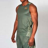 Camiseta de boxeo Leone Extrema verde militar