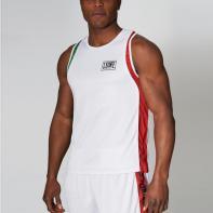 Camiseta de boxeo Leone Italia Boxing blanco