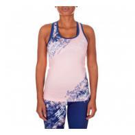 Camiseta Mujer Fitness Venum Neo Camo Azul Marino/Rosa Coral