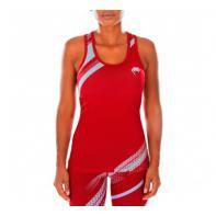 Camiseta Mujer Fitness Venum Rapid Coral