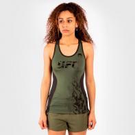 Camiseta Mujer Venum UFC Authentic Fight Week khaki