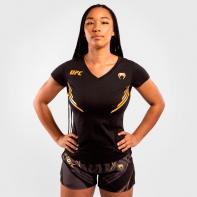 Camiseta Mujer Venum X UFC Campeón negro