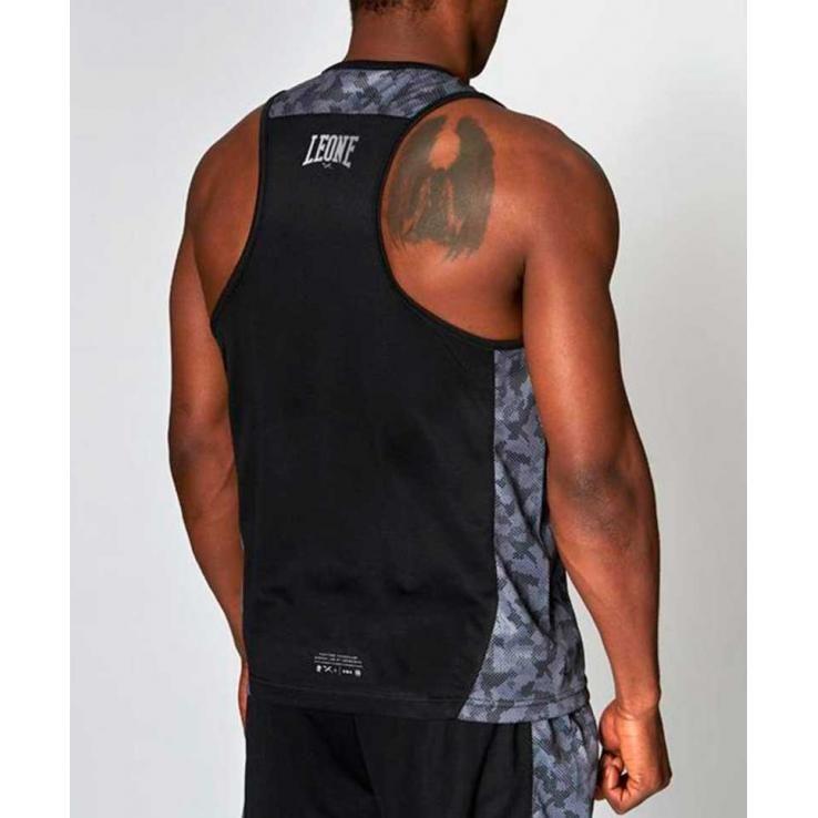 Camiseta de boxeo Leone Extrema negro