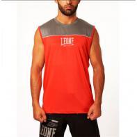 Camiseta Técnica Sin Mangas Leone Basic X Roja