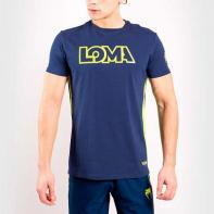 Camiseta Venum  Arrow Loma Signature Colecction azul / amarillo