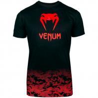 Camiseta Venum Classic negro/rojo