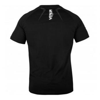 Camiseta Venum Contender 4.0 Negra/Gris-Blanca