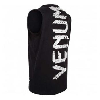 Camiseta Venum Giant Negra/Blanca Sin Mangas