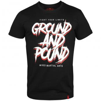 Camiseta Venum Ground And Pound Negro