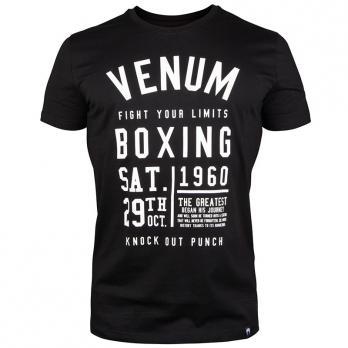 Camiseta Venum Knock Out Negro