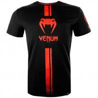 Camiseta Venum Logos negro / rojo