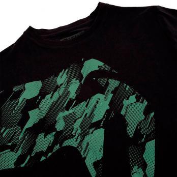 Camiseta Venum Tecmo Giant Kaki/Negro