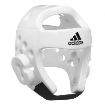Casco  Taekwondo Adidas blanco