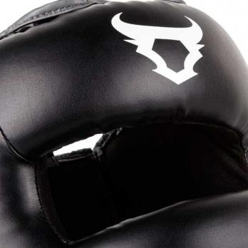Casco de boxeo con barra Ringhorns Nitro negro by Venum