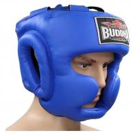 Casco de boxeo Buddha entrenamiento Thailand azul