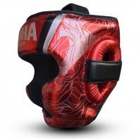 Casco de boxeo Buddha Galaxy rojo