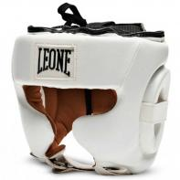 Casco de boxeo Leone Training blanco
