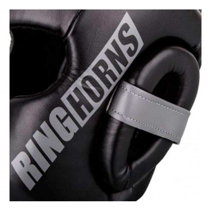 Casco de boxeo Ringhorns Charger negro by Venum