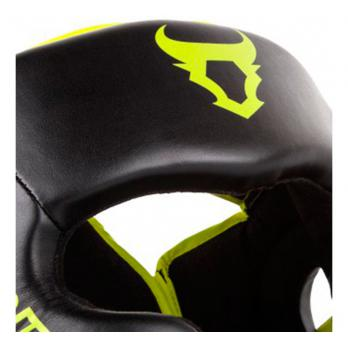 Casco Ringhorns Charger Negro Neo Yellow By Venum