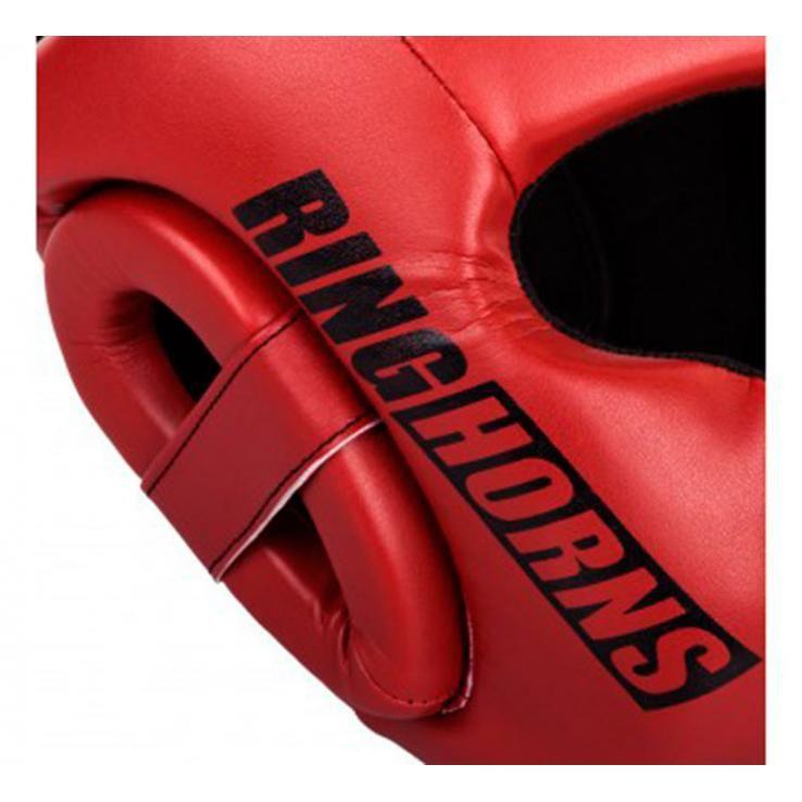 Casco de boxeo Ringhorns Charger rojo by Venum
