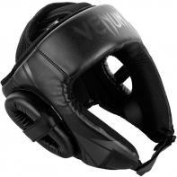 Casco de boxeo Venum Challenger Open Face negro mate
