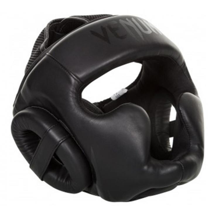 Casco de boxeo Venum Challenger 2.0 negro mate