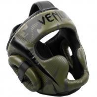Casco de boxeo Venum Elite khaki / camo