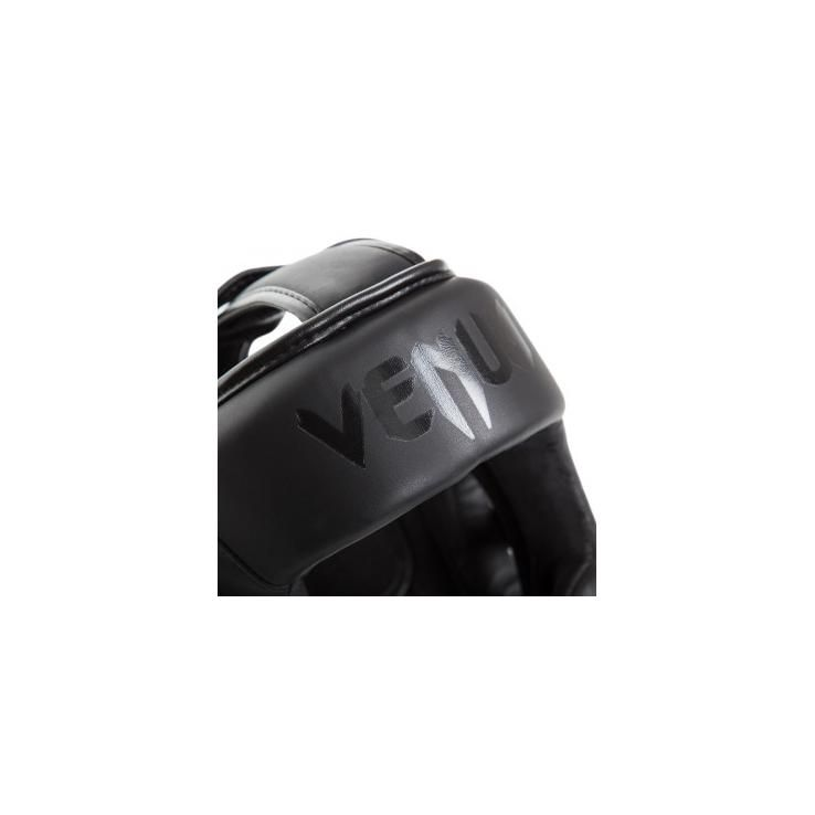 Casco de boxeo Venum Elite negro mate