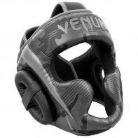 Casco de boxeo Venum Elite negro / dark camo