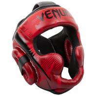 Casco de boxeo Venum Elite rojo camo