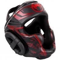 Casco de boxeo Venum Gladiator 3.0 negro / rojo