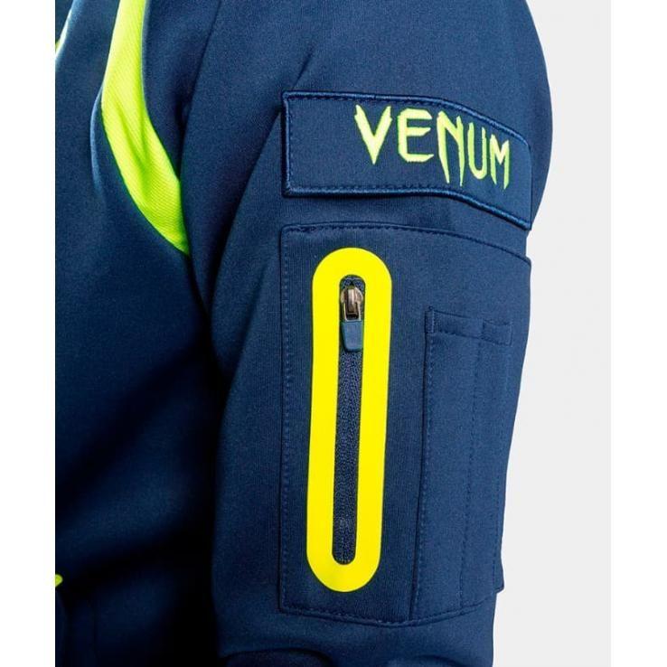 Chaqueta con cremallera Venum Origins Loma Edition azul / amarillo