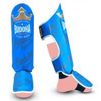 Espinilleras Buddha Top Premium Azul