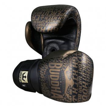Guantes de boxeo Buddha Golden Premium Piel