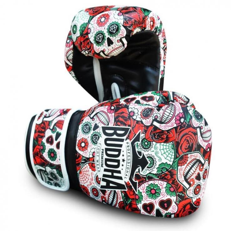 Guantes de boxeo Buddha Mexican rojo