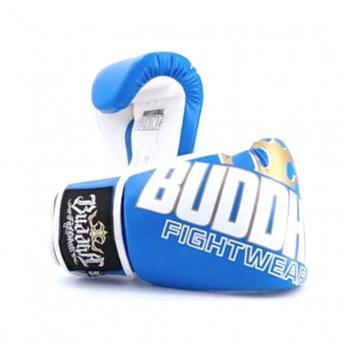 Guantes de boxeo Buddha Millenium Azul/Blanco