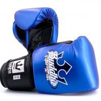 Guantes de boxeo Buddha Metallic Azul/Negro