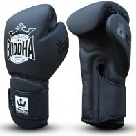 Guantes de boxeo Buddha Pro Gel negro mate