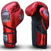 Guantes de boxeo Buddha Pro Gel rojo