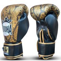 Guantes de boxeo Buddha Snake Golden