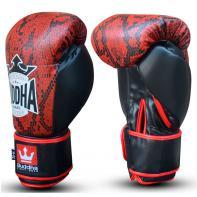 Guantes de boxeo Buddha Snake Rojo
