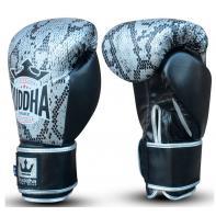 Guantes de boxeo Buddha Snake Silver