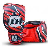 Guantes de boxeo Buddha Stich negro/rojo Niños